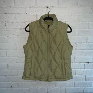 Eddie Bauer green vest medium